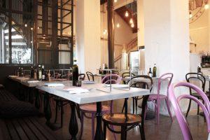 Bordsskivor för restaurangmiljö