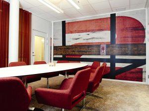 Möbler till konferens hos AZ Design
