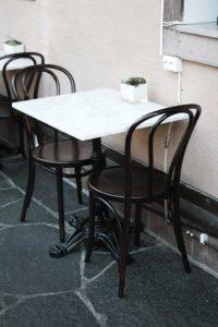 Bordsskivor till restaurang och cafémiljö